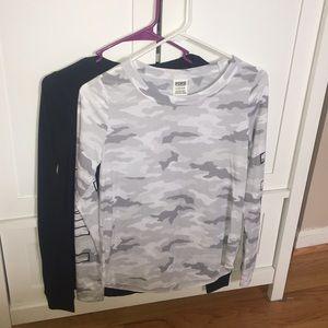 VS Pink thermal shirts sz S